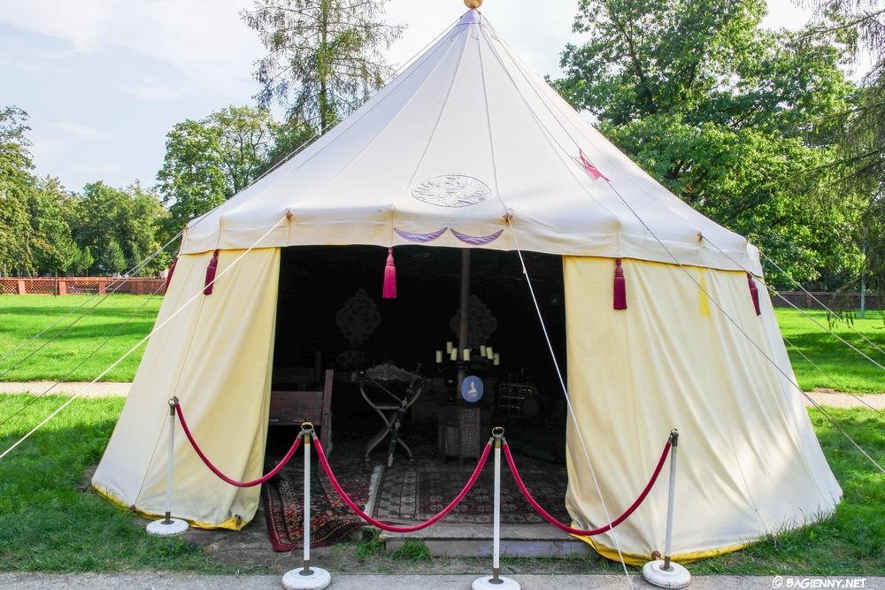 Rekonstrukcja obozu wojennego króla Jana III Sobieskiego w Wilanowie